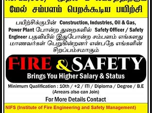 PG Diploma in Health safety Environment courses