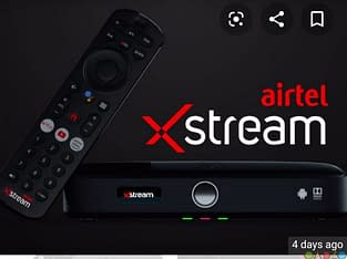 AIRTEL XTREAM DTH CONNECTION