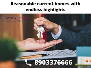 Flat sale in Trichy cantonment – Sixthstar Homes