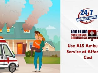 Get Ambulance Service in Pundag with ICU Facility