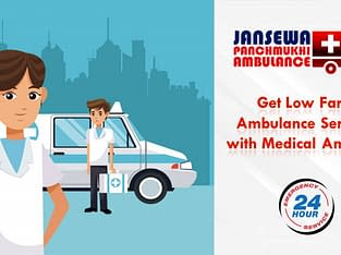 Get Ambulance in Purulia Road with Medical Service