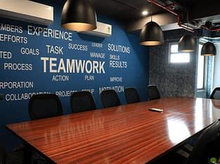 Coworking office spaces at low budget in Ahmedabad