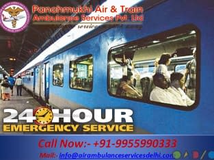 Get Quick and Fast ICU Train Ambulance from Ranchi