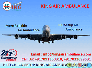 Advantages of King Air Ambulance in Dibrugarh