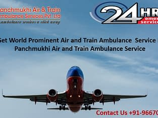 Select Prominent Air Ambulance Service in Bhopal