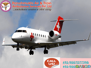 Take Well Developed Air Ambulance Service in Patna