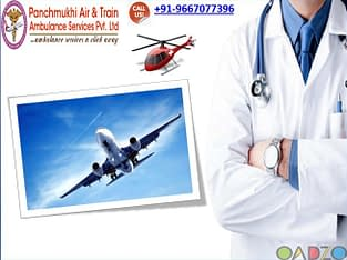 Select Convenient Air Ambulance Service in Bhopal