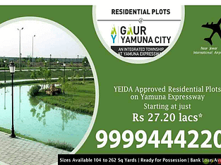 Plots in Sector 22D Yamuna Expressway