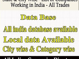 City And State Database Provider In India