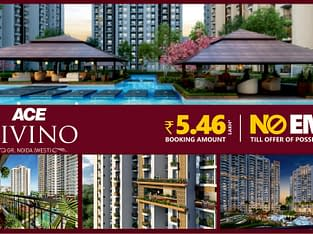 3 BHK Flats in Extension , ACE Divino Noida Extensi