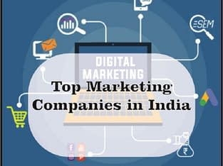 We are one of the top marketing companies in india