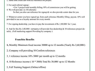 Online AD Posting Business Opportunity Monthly Fix