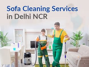 Best sofa cleaning service in Delhi NCR