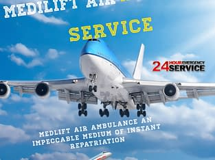 Pay Low Fare and Get Air Ambulance in Patna