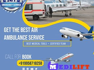 Ultimate ICU Air Ambulance Services in Ranchi