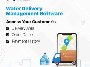 Water Delivery Service Software