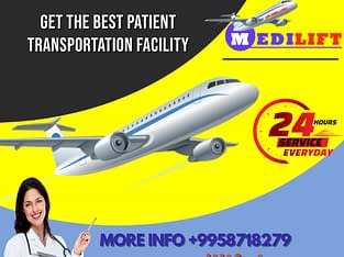 Use Highly Developed Air Ambulance in Bangalore