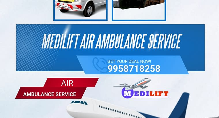 Medilift Air Ambulance with ICU support