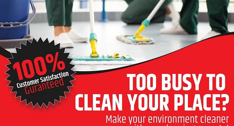 clean your place
