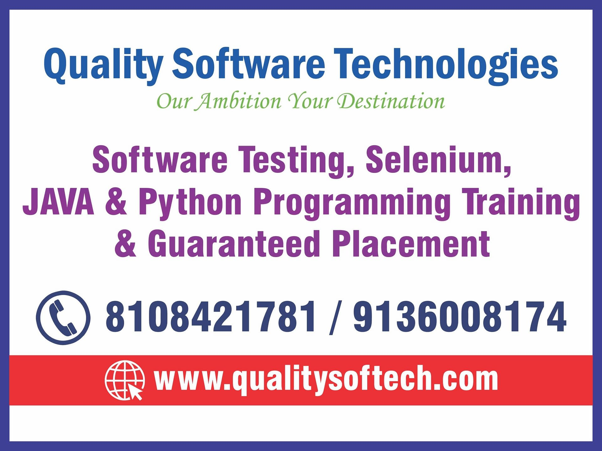 BEST SOFTWARE TESTING TRAINING , COURSE IN THANE