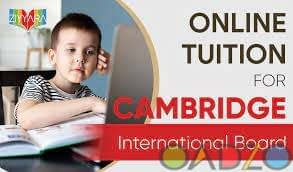 Online tuition For Cambridge International Board